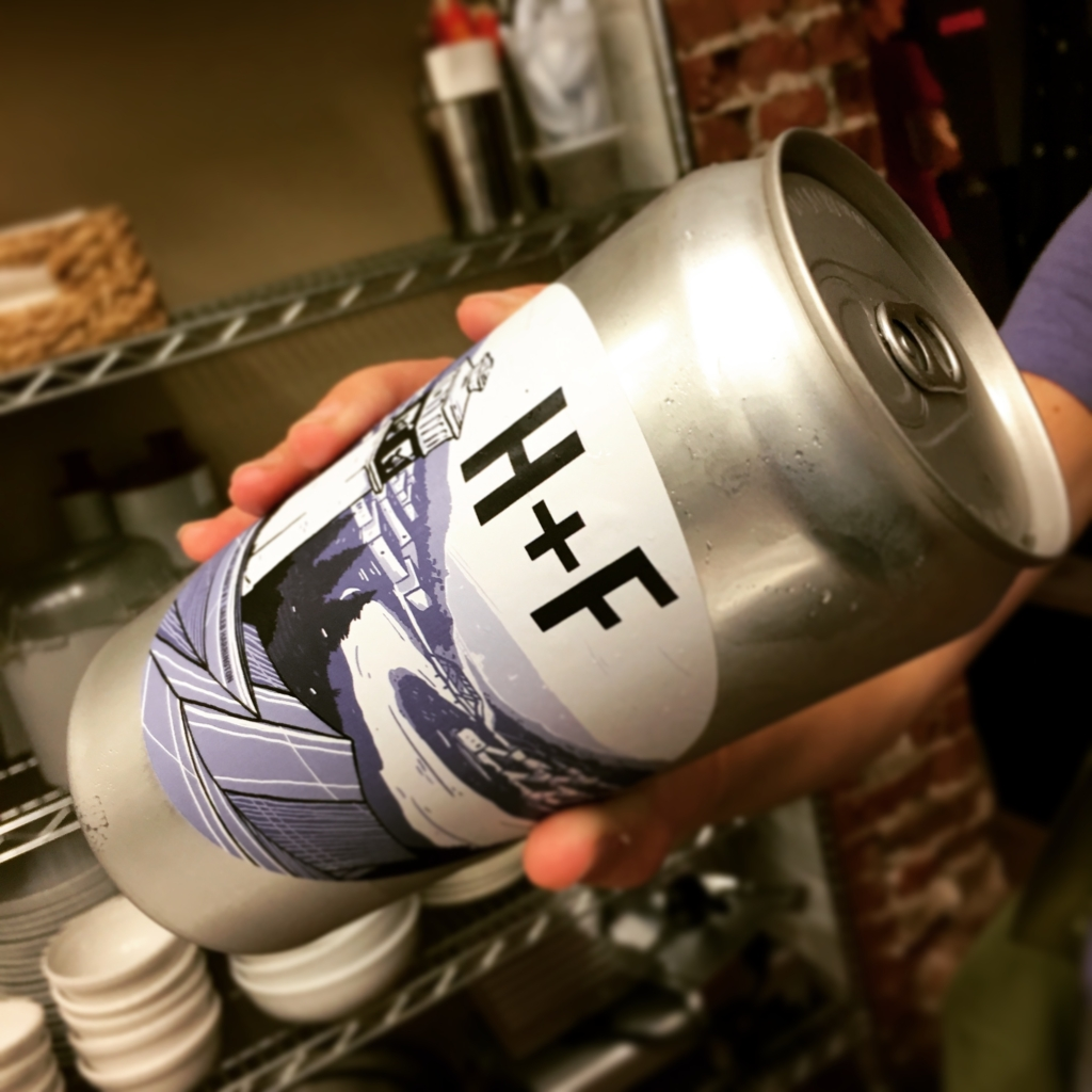crowlers available at Hand + Foot in Corning